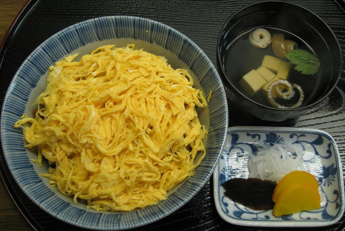 きん糸丼(すまし付)