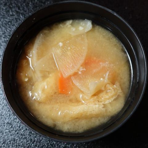 具沢山奏龍味噌汁(上松屋)