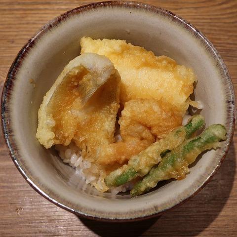 海鮮天丼(てる久)550