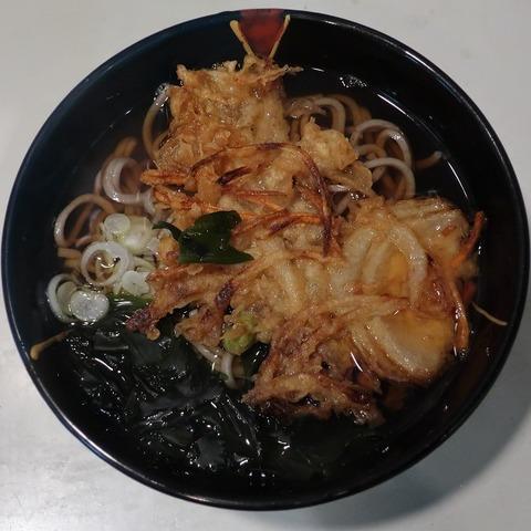 天ぷらそば(哥川)400