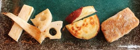 加賀野菜と生麩鉄板焼(加賀)