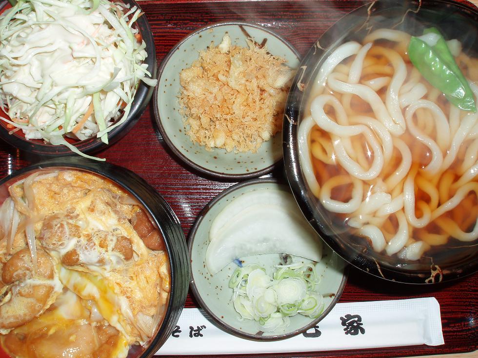 唐揚丼セット(ミニ)