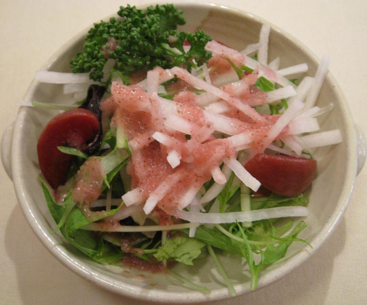 大根と水菜のサラダ(ハーフサイズ)
