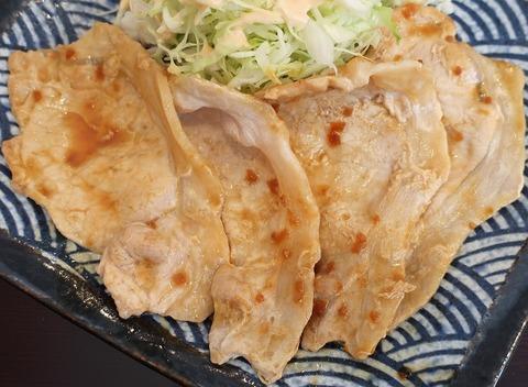 生姜焼(氷川食堂)