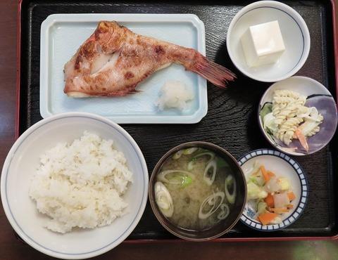 あこう鯛定食(じゅらく)870