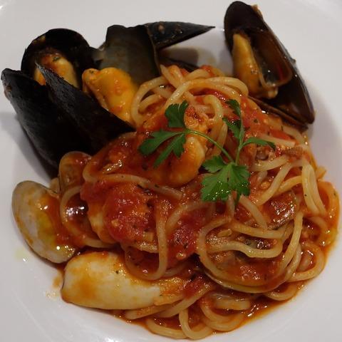 漁師風トマトスパゲッティ(ピアットジョルノ)1550