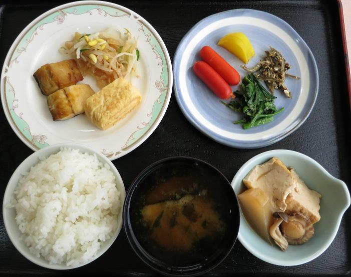 鶴岡の朝御飯