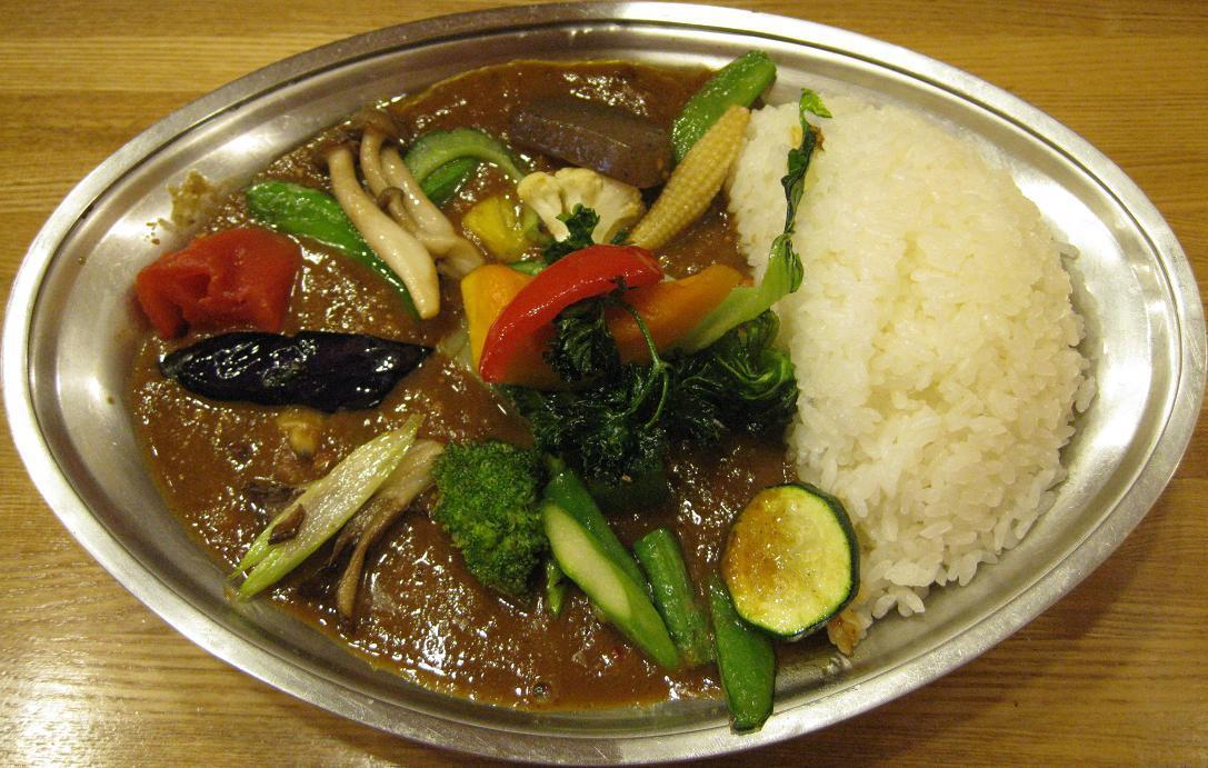 野菜アサリカレー
