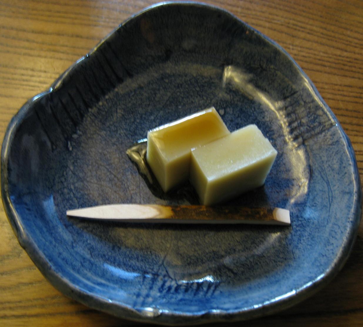 蕎麦デザート