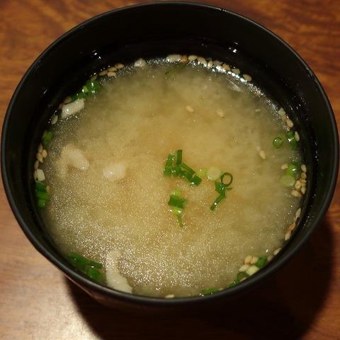 味噌汁(六左衛門)