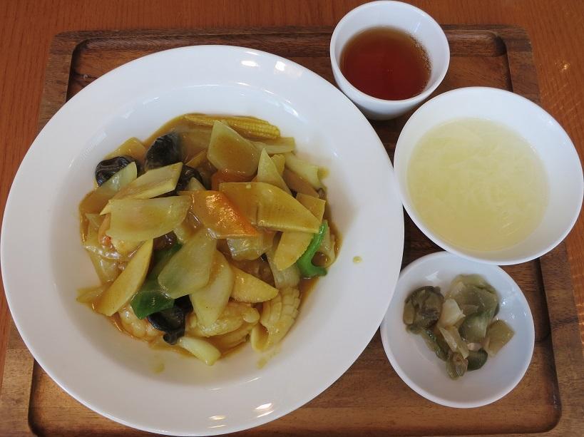 スープ&搾菜付