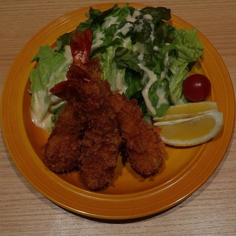 海老フライ定食(おたま)1566