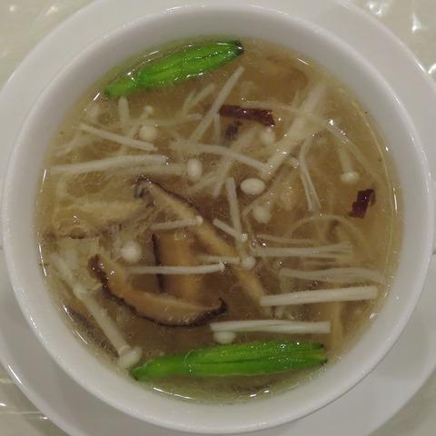 貝柱スープ(桃源酒家)810