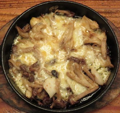 ホタテとキノコのチーズ焼(三英)780