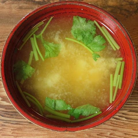味噌汁(魚金)