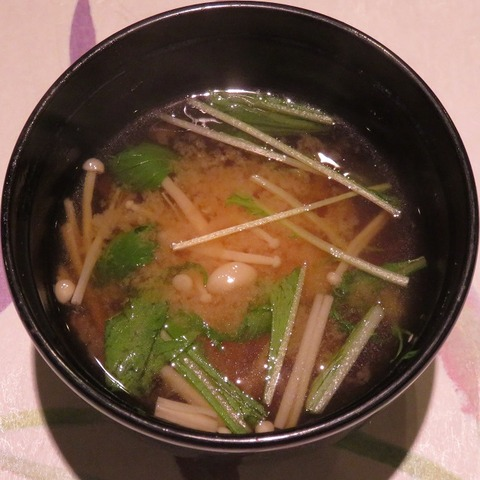 味噌汁(かわむら)