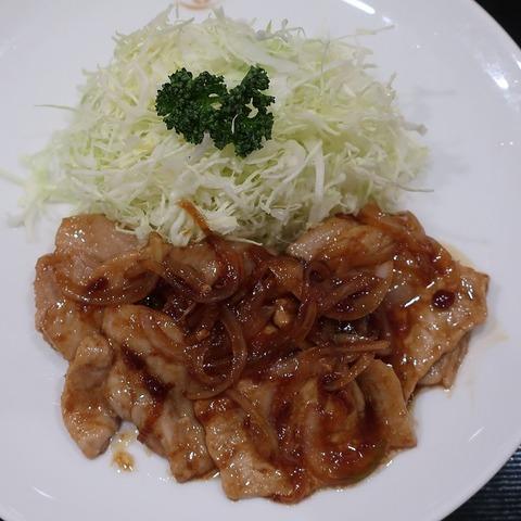 黒豚生姜焼膳(まい泉)1680
