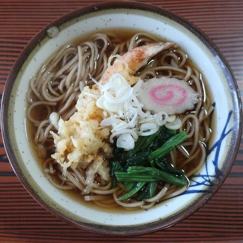 天ぷらそば(おがわ)620