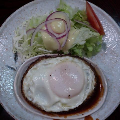 ハンバーグ(千成亭)