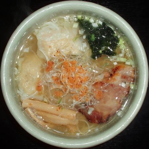 ひるがお(海老ワンタン麺)