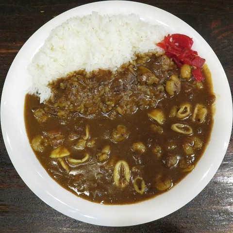 シーフードカレー(マサラ亭)700