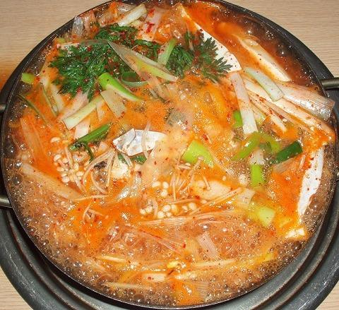 海鮮鍋(マンナ)