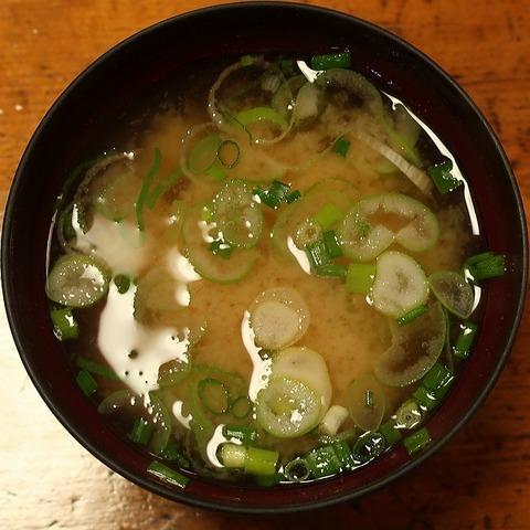 味噌汁(山喜)