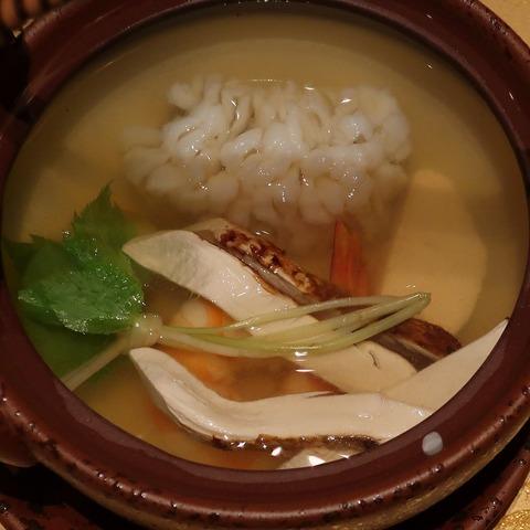松茸土瓶蒸し(蒼樹庵)
