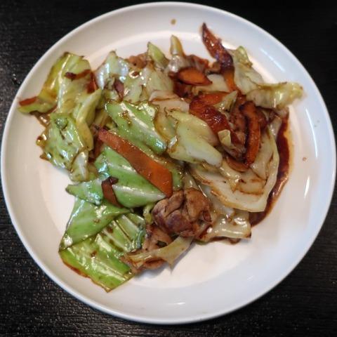 豚肉とキャベツの味噌炒め(キャロット)