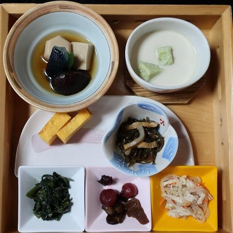 田舎朝食(上松屋)