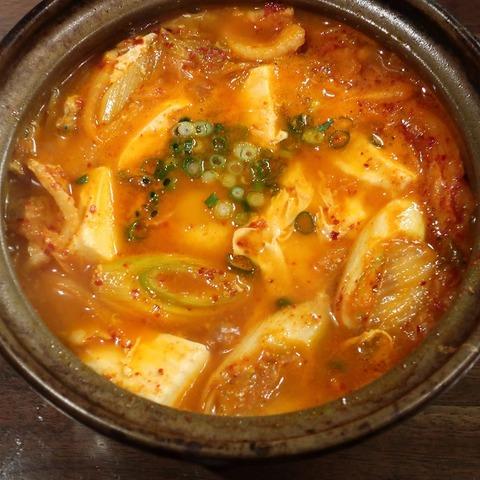 キムチ豆腐鍋(風来坊)750