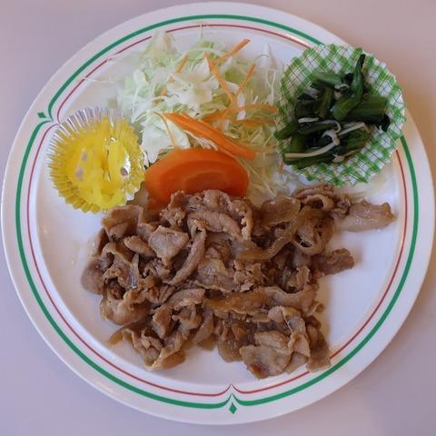 生姜焼定食(ベルハート)710