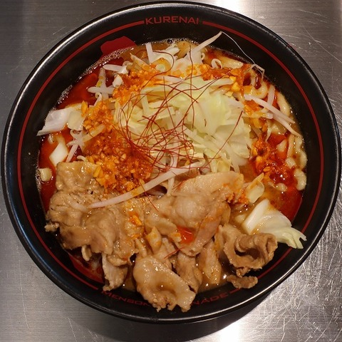 紅らーめん(麺創研)800