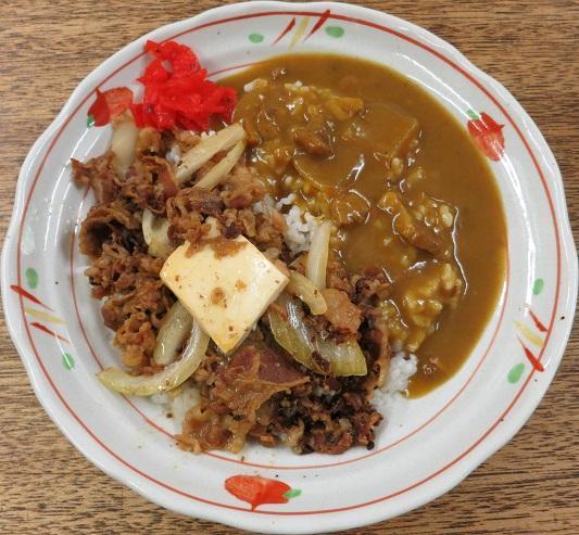 牛めし+カレー