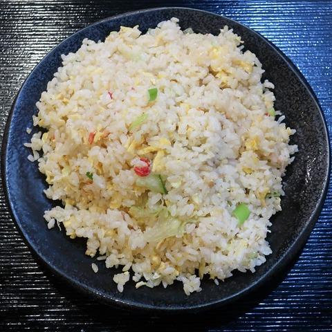 カニレタス炒飯(東園)700