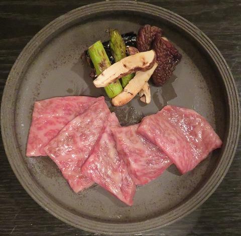 特選黒毛和牛肉(ほり川)