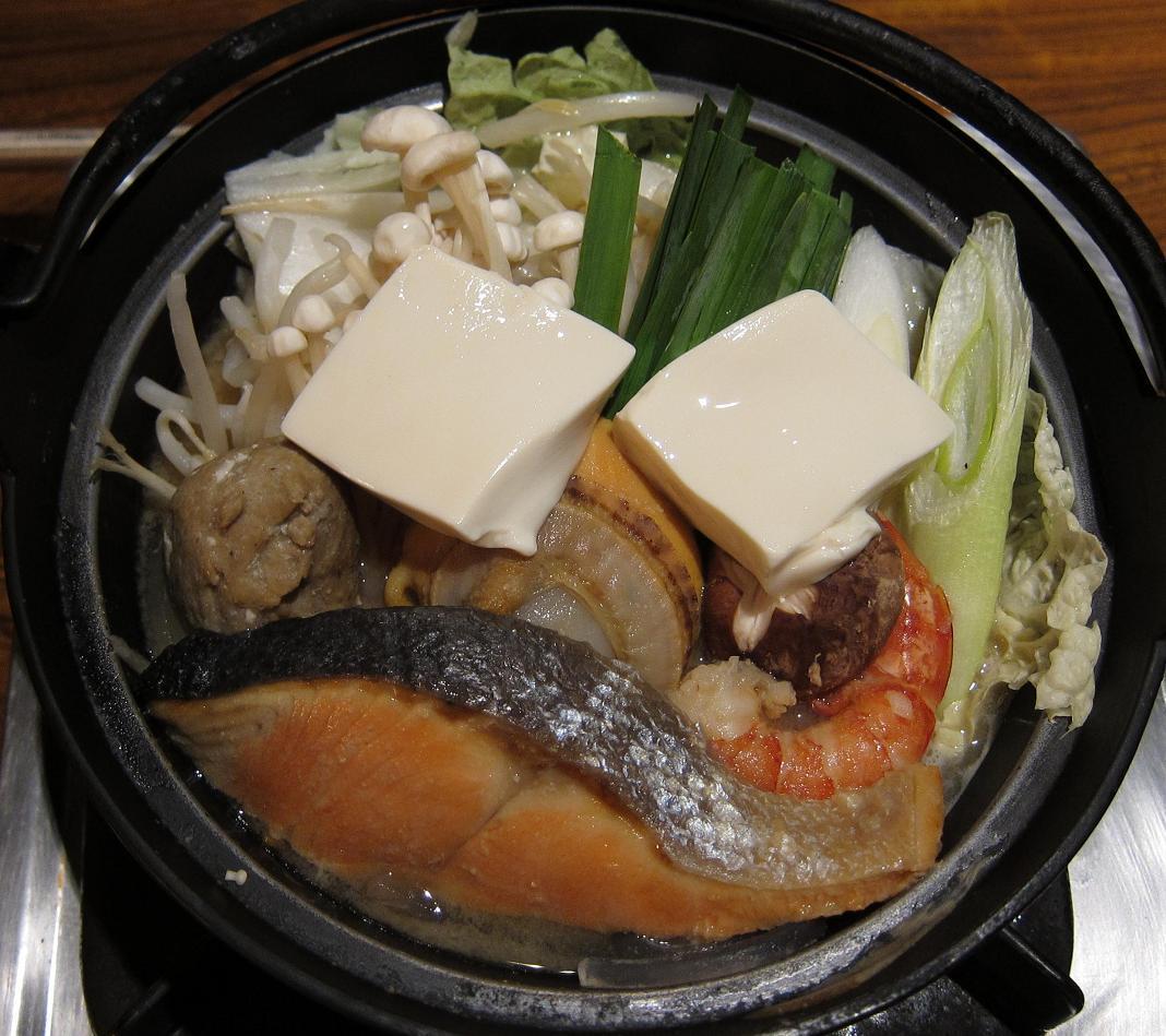 海鮮ちゃんこ鍋(加熱前)