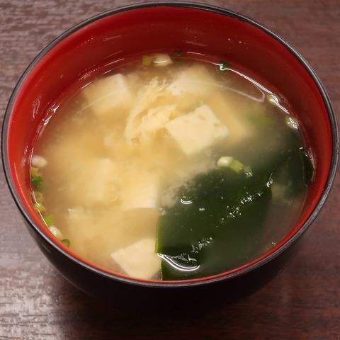 味噌汁(大村庵)