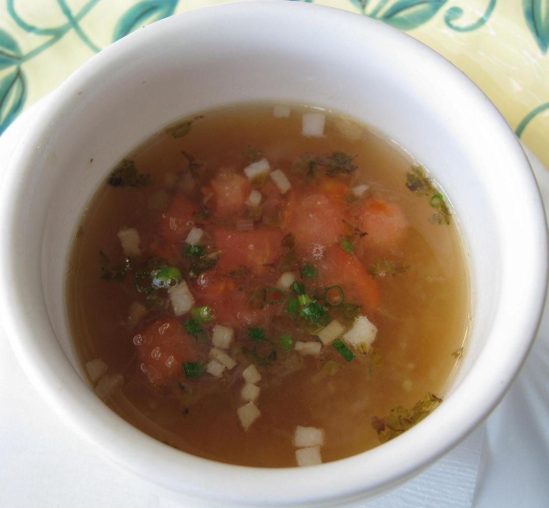 野菜ブイヨンスープ