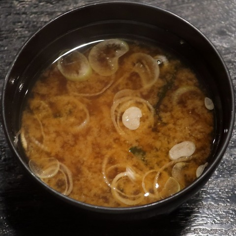 味噌汁(昌久)