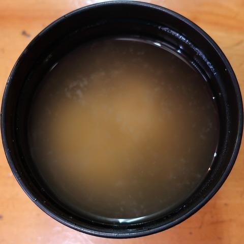 味噌汁(おくたま寿司)
