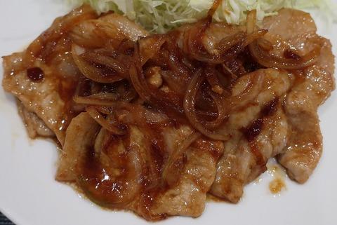 黒豚生姜焼(まい泉)