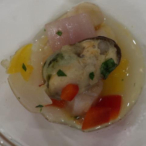 ムール貝のマリエール(ルクレール)