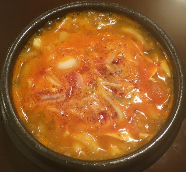 純豆腐チゲアップ