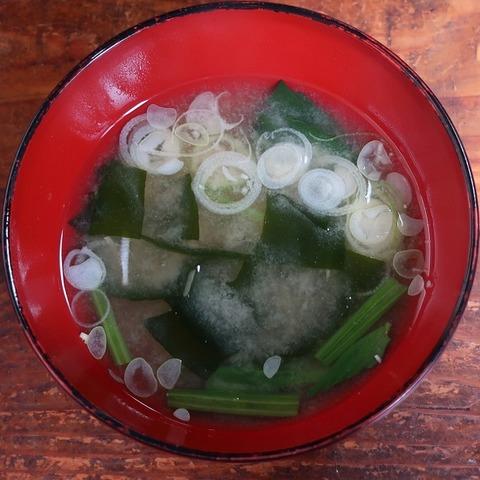 味噌汁(天芳)