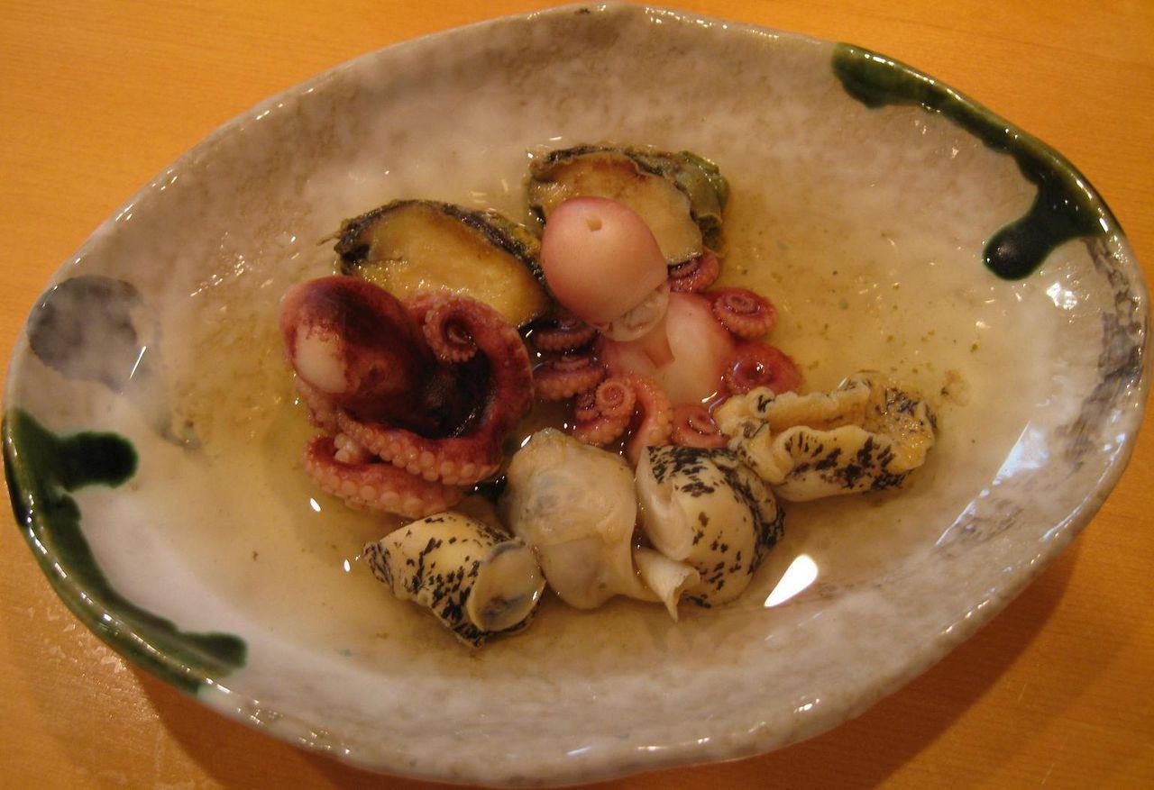 関東煮海三種