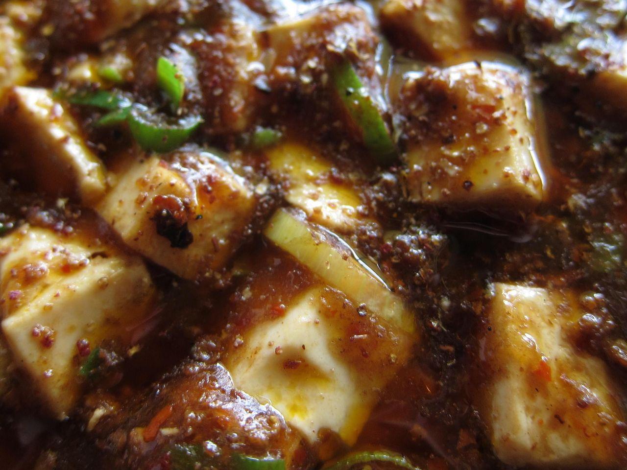 陳麻婆豆腐アップ
