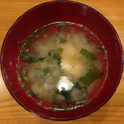 味噌汁(三河屋)