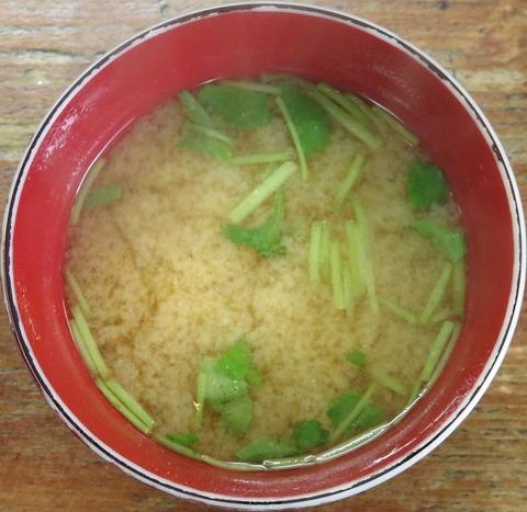味噌汁(徳仙)