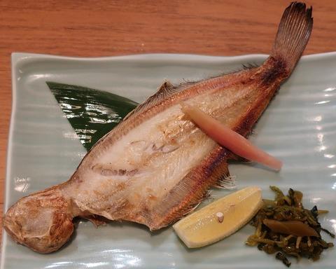 柳鰈塩焼(千寿)900